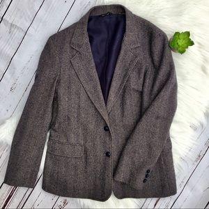 OSCAR DE LA RENTA Vintage 100% Cashmere Blazer